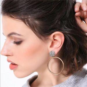 New Style✨ Vintage Gold Hoop Earrings 😍